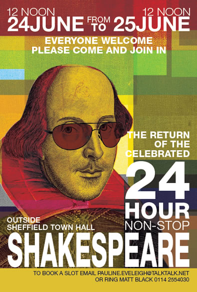 24 Hour Non-Stop Shakespeare
