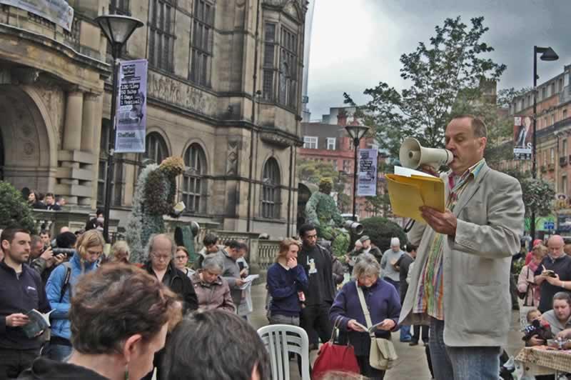 National Reading Day Flashmob